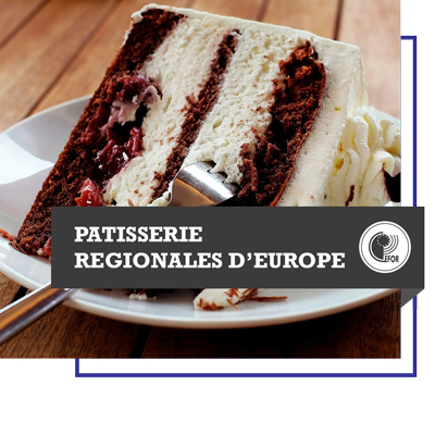 Patisseries régionales d'Europe