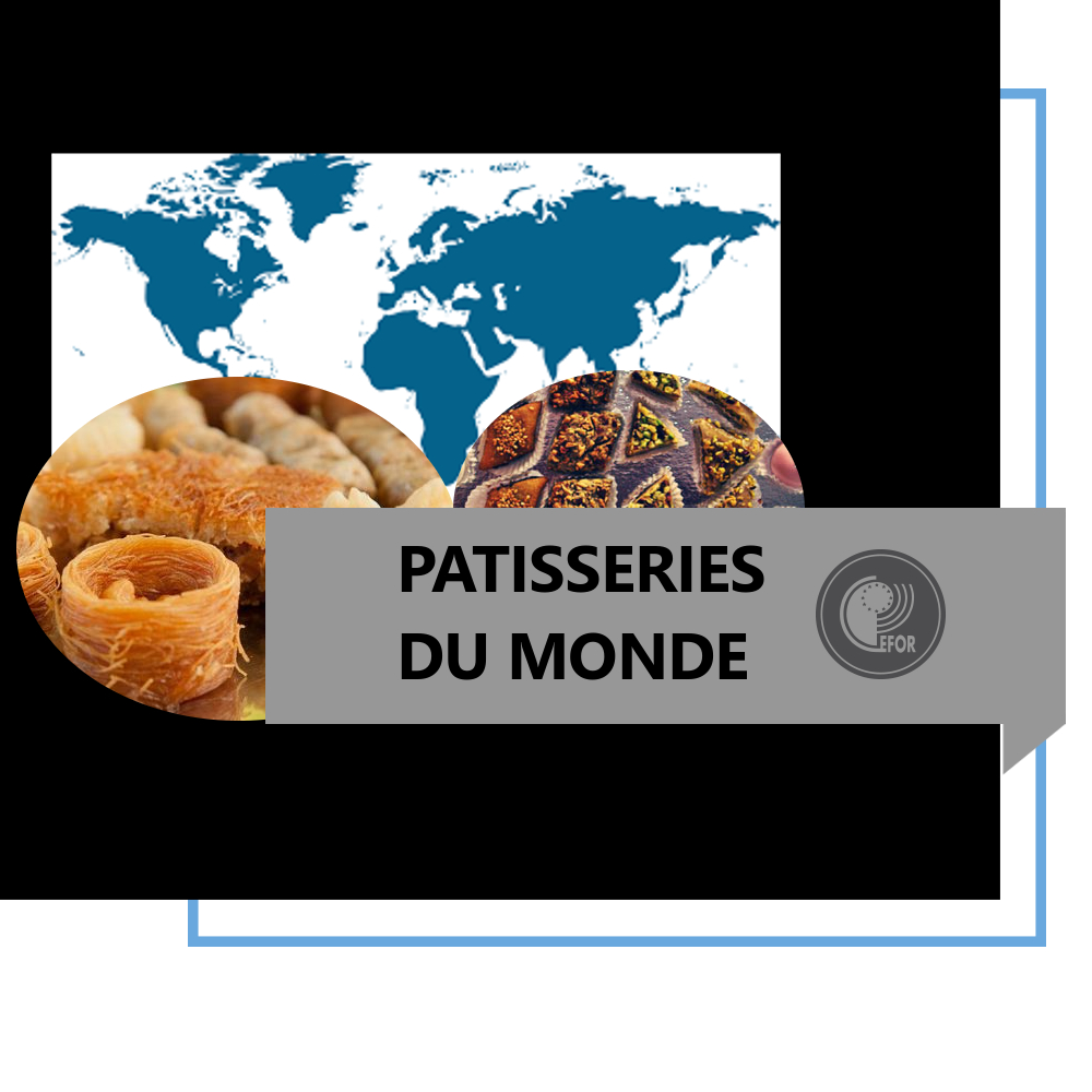 Patisseries du monde (hors europe)